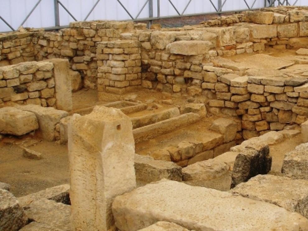 Yacimiento de Villa Fortunatus en Fraga