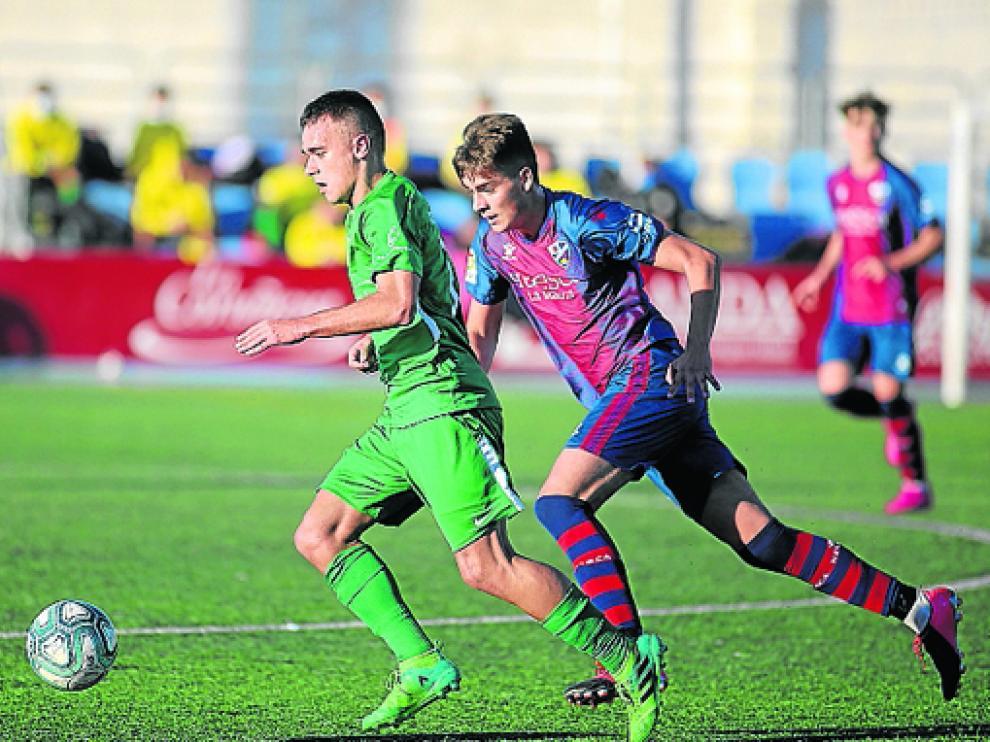 El Huesca se enfrenta este sábado al Cornellà.