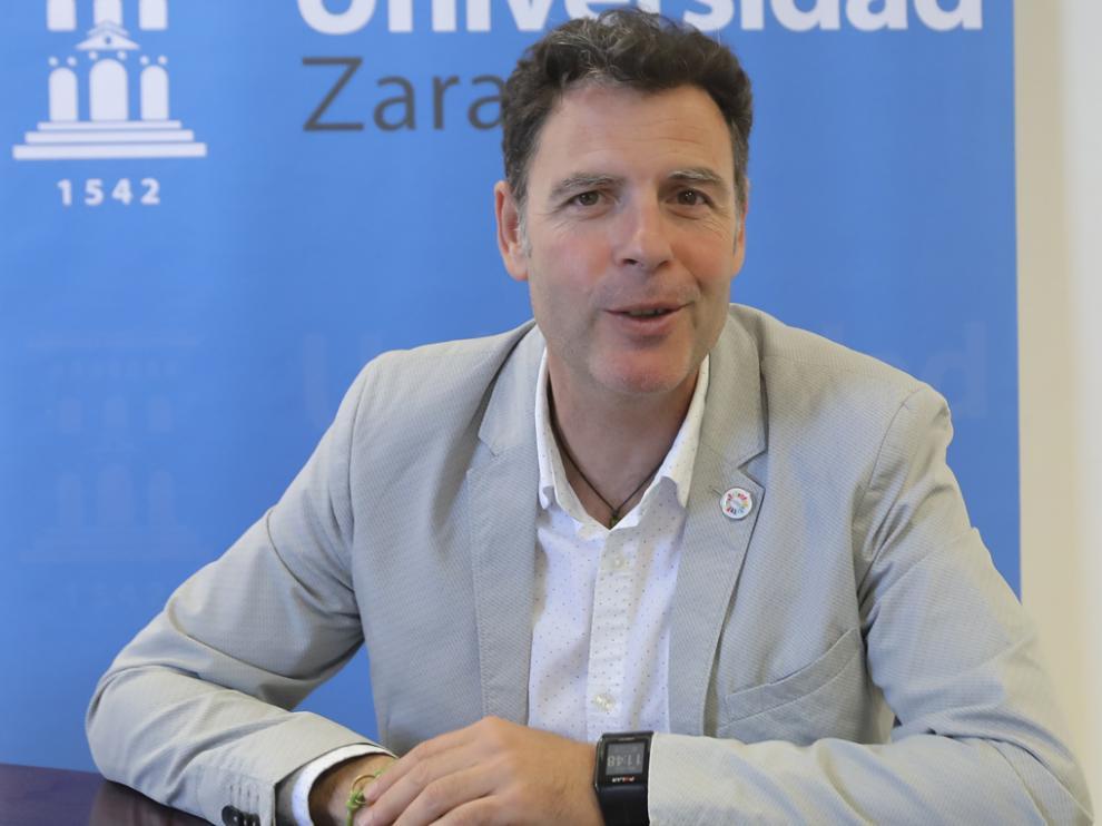 Germán Vicente Rodríguez, decano de la Facultad de Ciencias de la Salud y el Deporte de Huesca