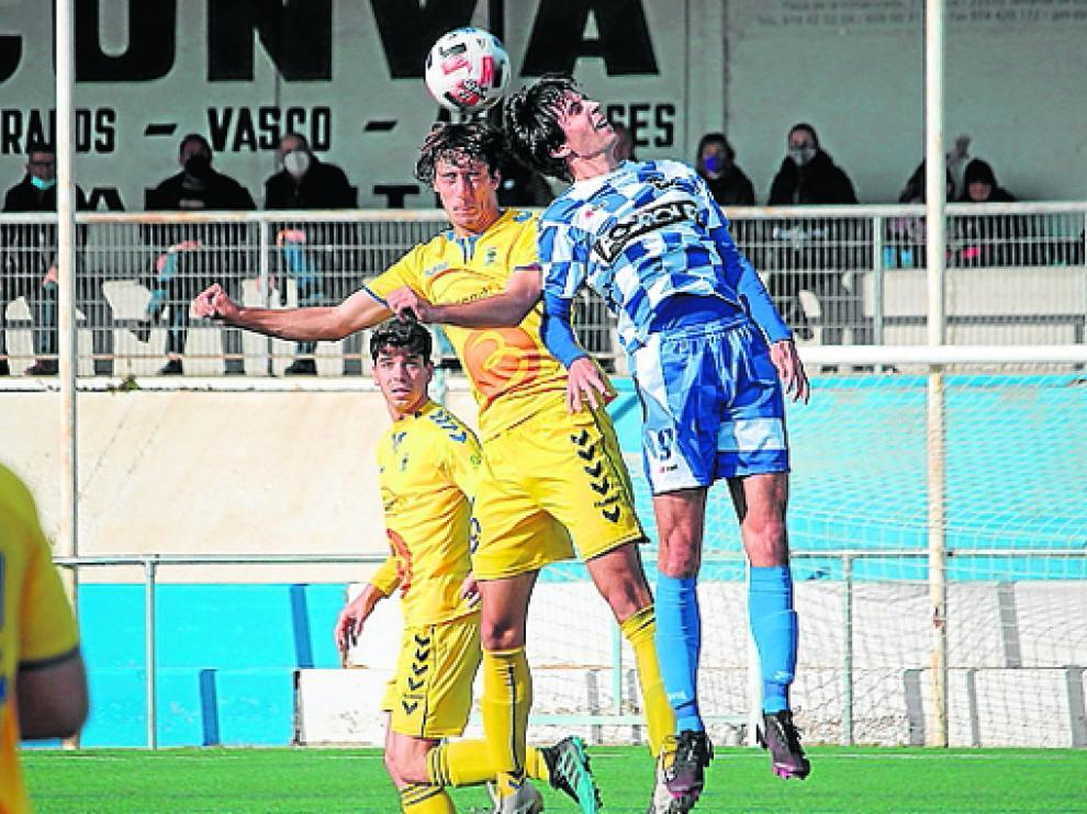 Imagen del partido que disputó el Robres hace unas semanas ante el Tamarite.