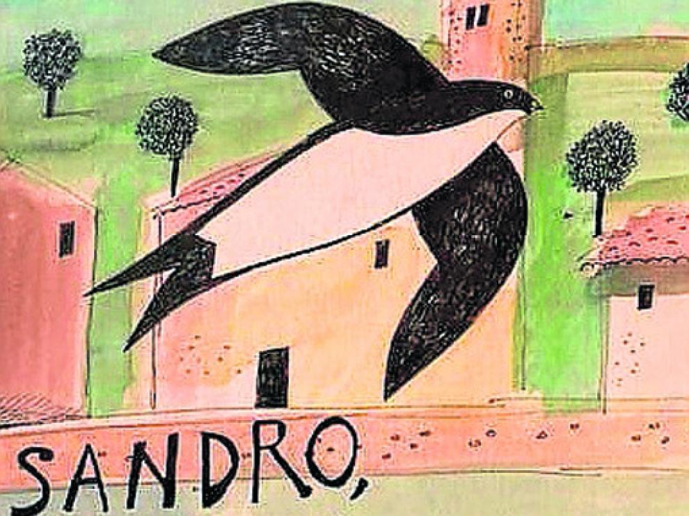 Portada del álbum ilustrado con textos de Paco Paricio e ilustraciones de Antonio Santos