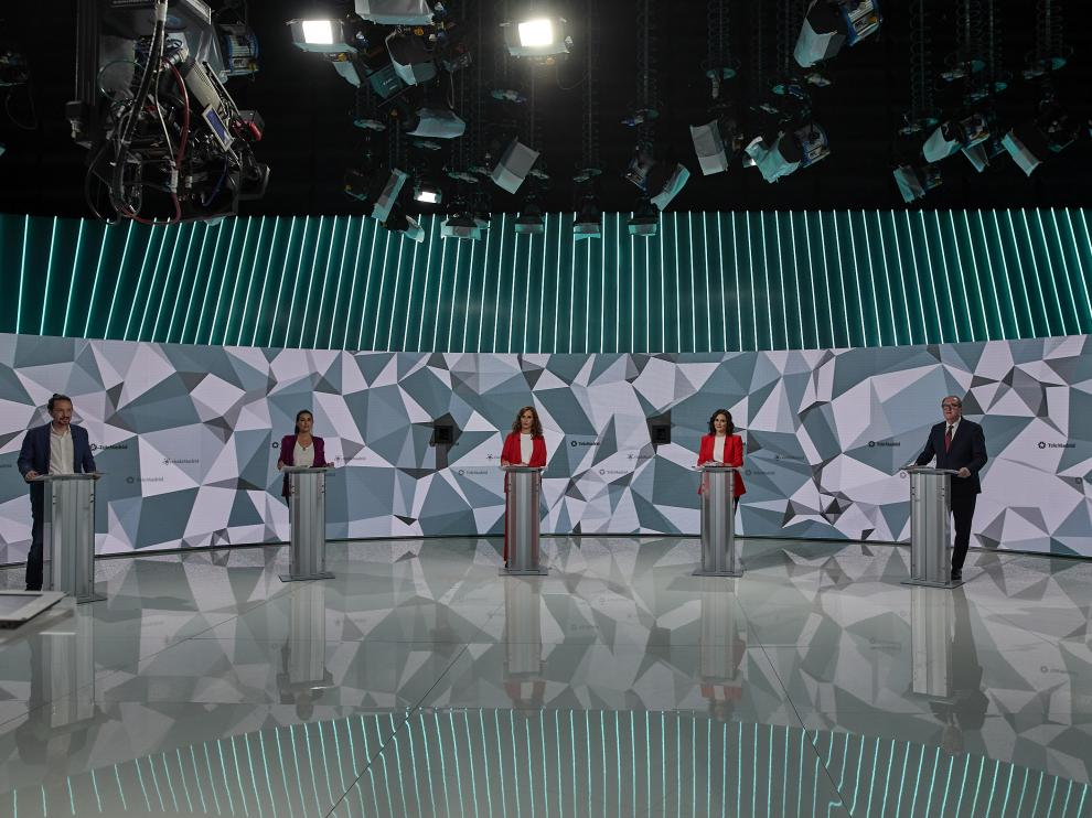 Candidatos en la Comunidad de Madrid.