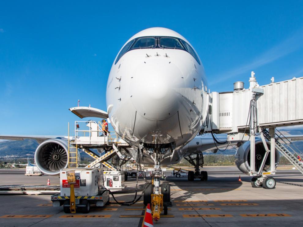 Avión de Iberia A350.