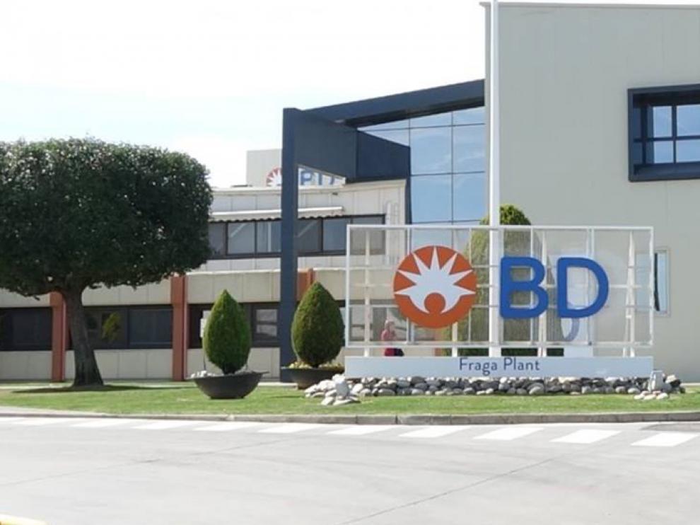 Fábrica Becton Dickinson en Fraga.