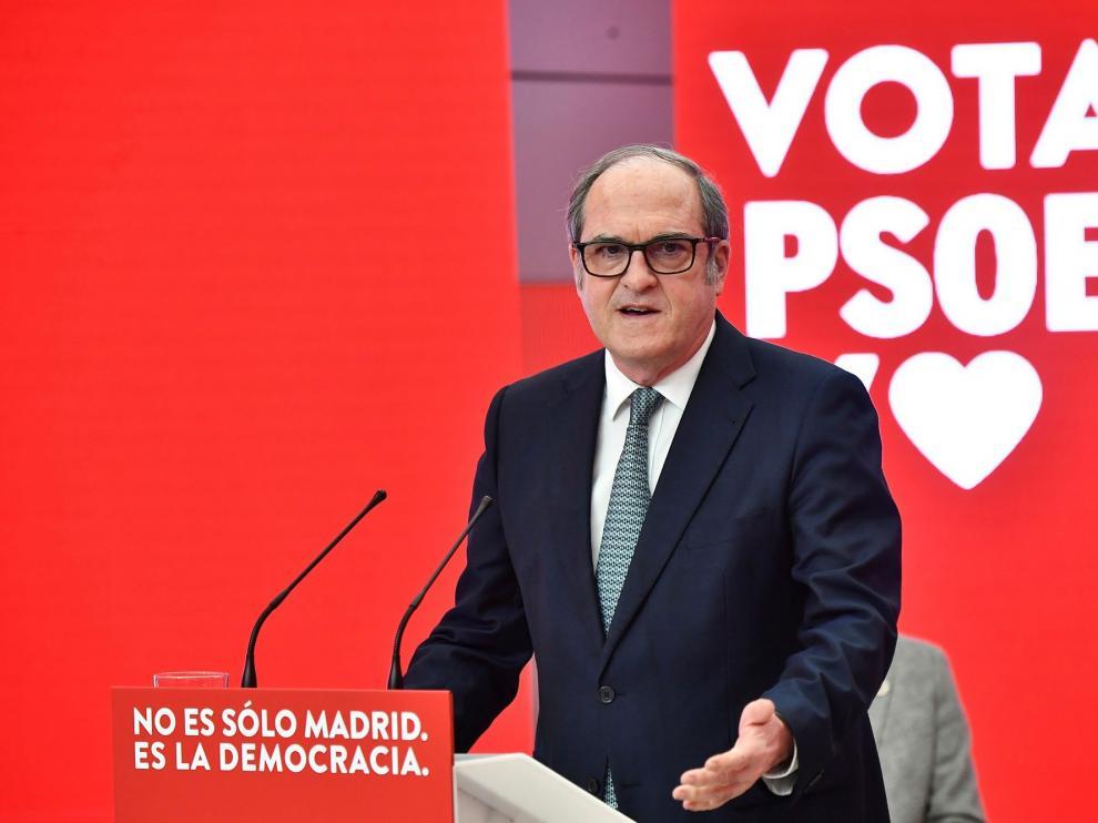 Ángel Gabilondo PSOE Madrid
