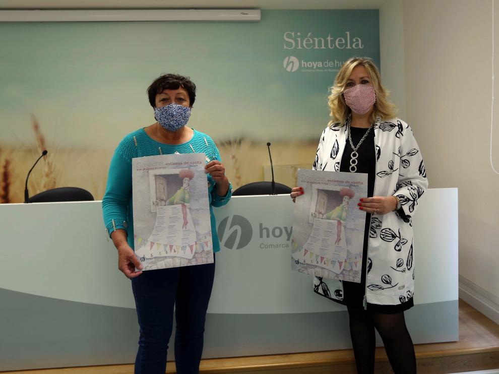 Angelita Cavero y Beatriz Calvo presentaron la programación.