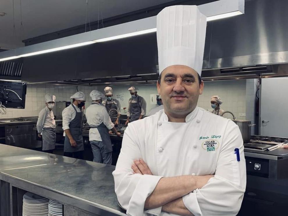 El chef barbastrense Fermín López.
