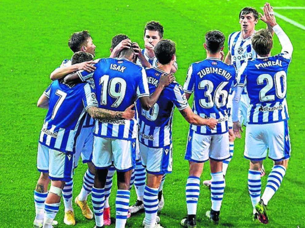 La Real Sociedad buscará en Huesca una victoria que le asegure la clasificación para Europa.