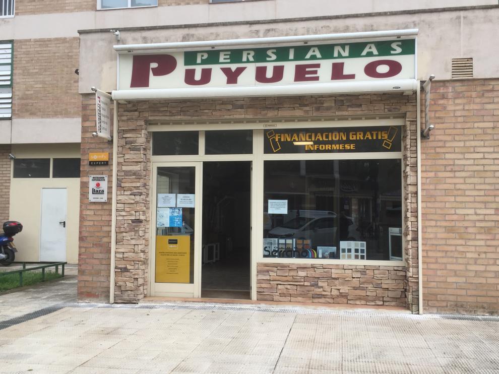 Persianas Puyuelo, compañía oscense especializada en toldos, persianas y cerramientos.