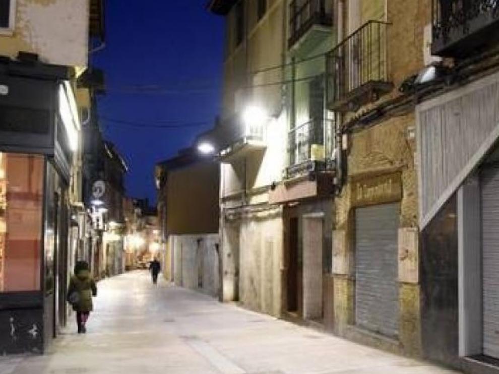 Una zona del Tubo de Huesca