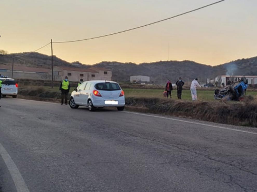 Imagen facilitada por la Guardia Civil de Teruel