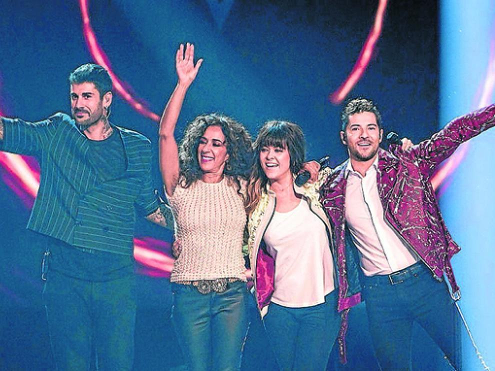 Melendi, Rosario, Vanesa Martín y David Bisbal forman el jurado del programa.