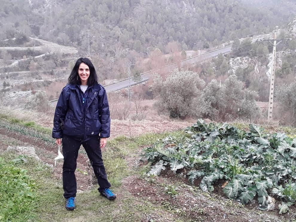 La doctora en Veterinaria Tania Pérez planea crear un laboratorio en Escanilla