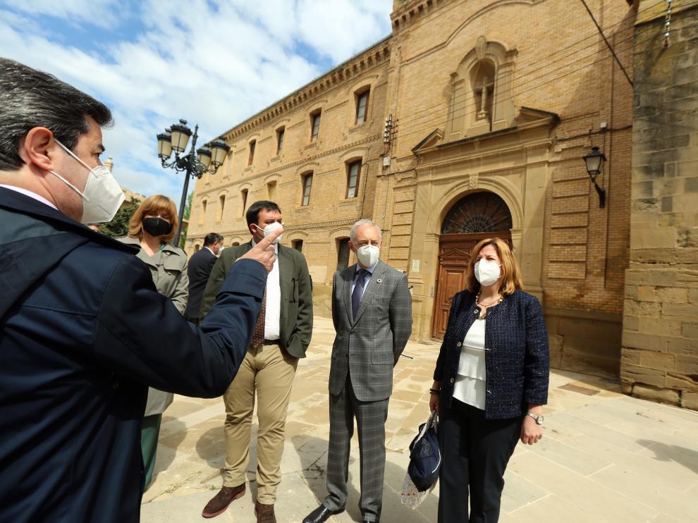 El edificio del Seminario se someterá a una rehabilitación integral financiada con fondos europeos.