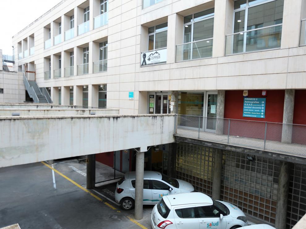 Centro de Salud Pirineos de Huesca.