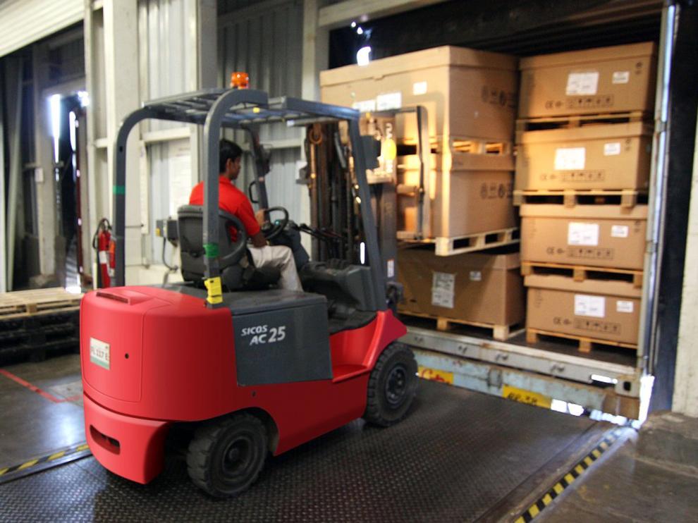La provincia de Huesca exportó en enero y febrero 206.275 toneladas de productos a 102 países.