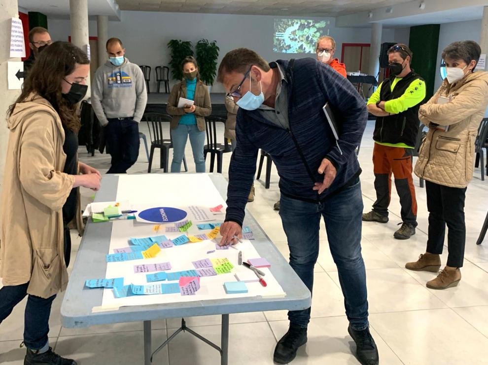 Taller la participación ciudadana en la gestión de la Red Natura 2000 en Aínsa.