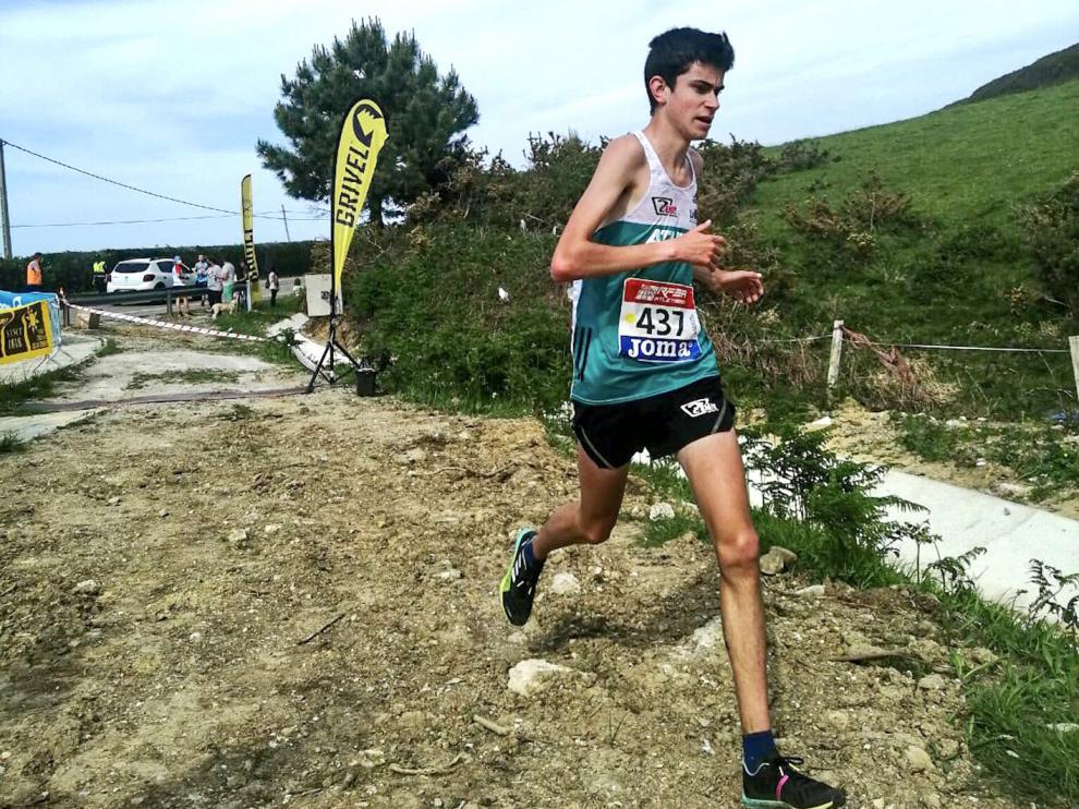Álvaro Osanz llega en plena forma tras su medalla en el Nacional de la RFEA.