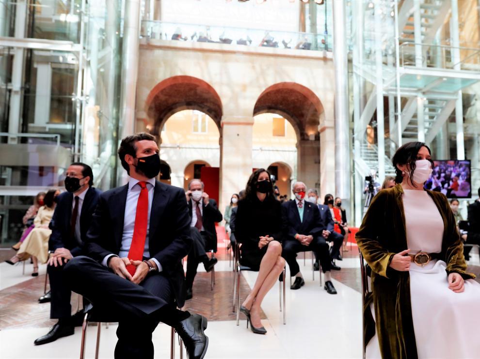 Casado y Díaz Ayuso en el Día de la Comunidad de Madrid