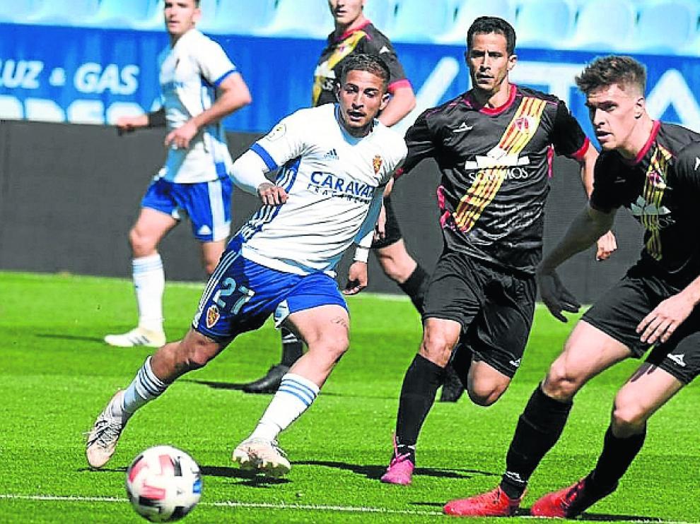 El Barbastro sumó un punto de prestigio en La Romareda ante el filial del Real Zaragoza.