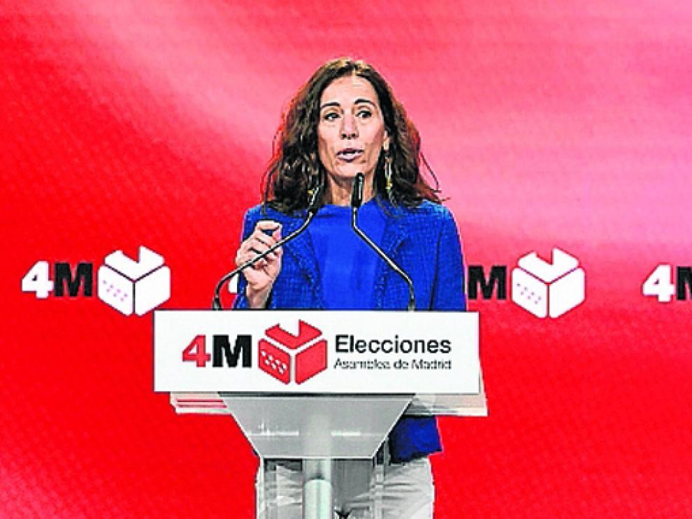 Eugenia Carballedo este lunes en el Centro de Difusión de Datos.