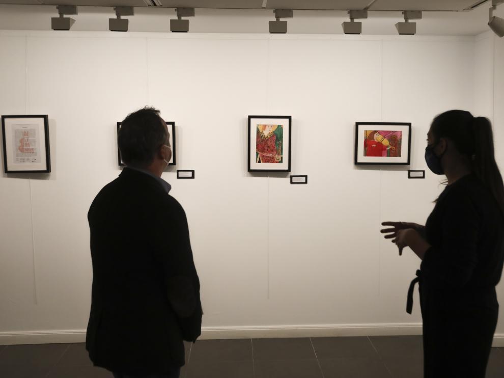 Foto de una exposición inaugurada recientemente en la Fundación CAI de Huesca.