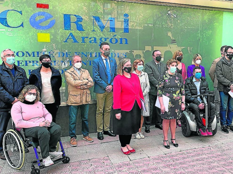 Imagen de la celebración del Día Nacional de los Derechos de las personas con discapacidad.