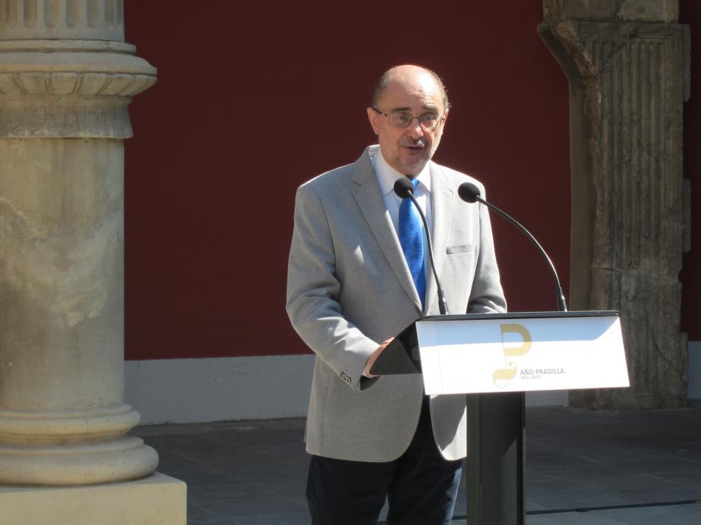 El presidente aragonés, Javier Lambán