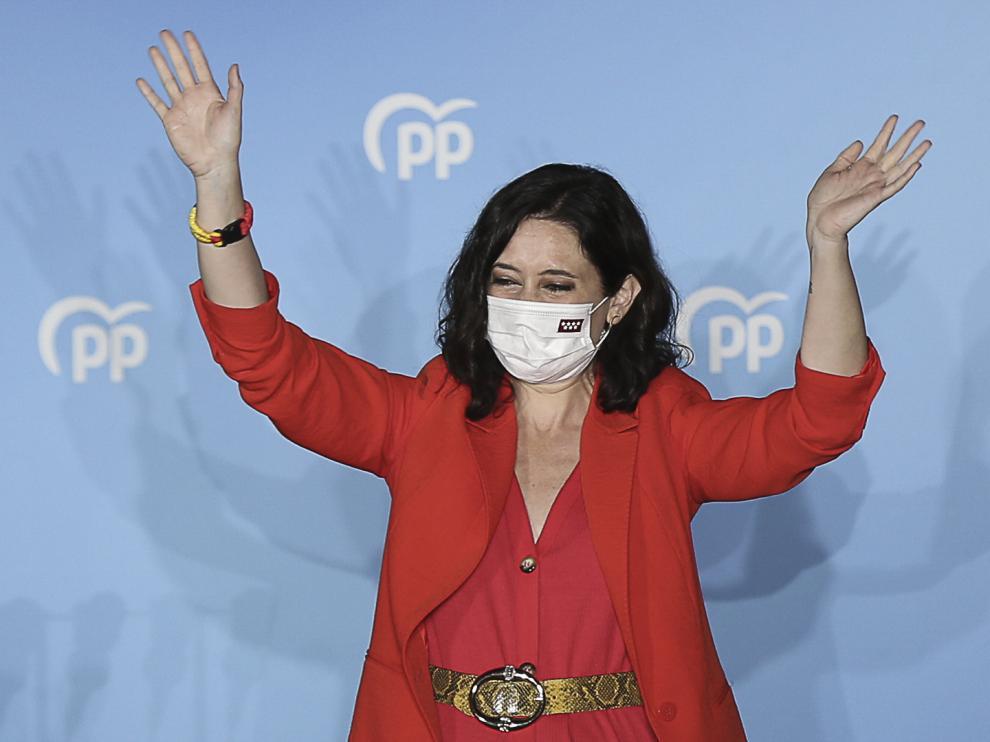 Ayuso, presidenta de la Asamblea de Madrid