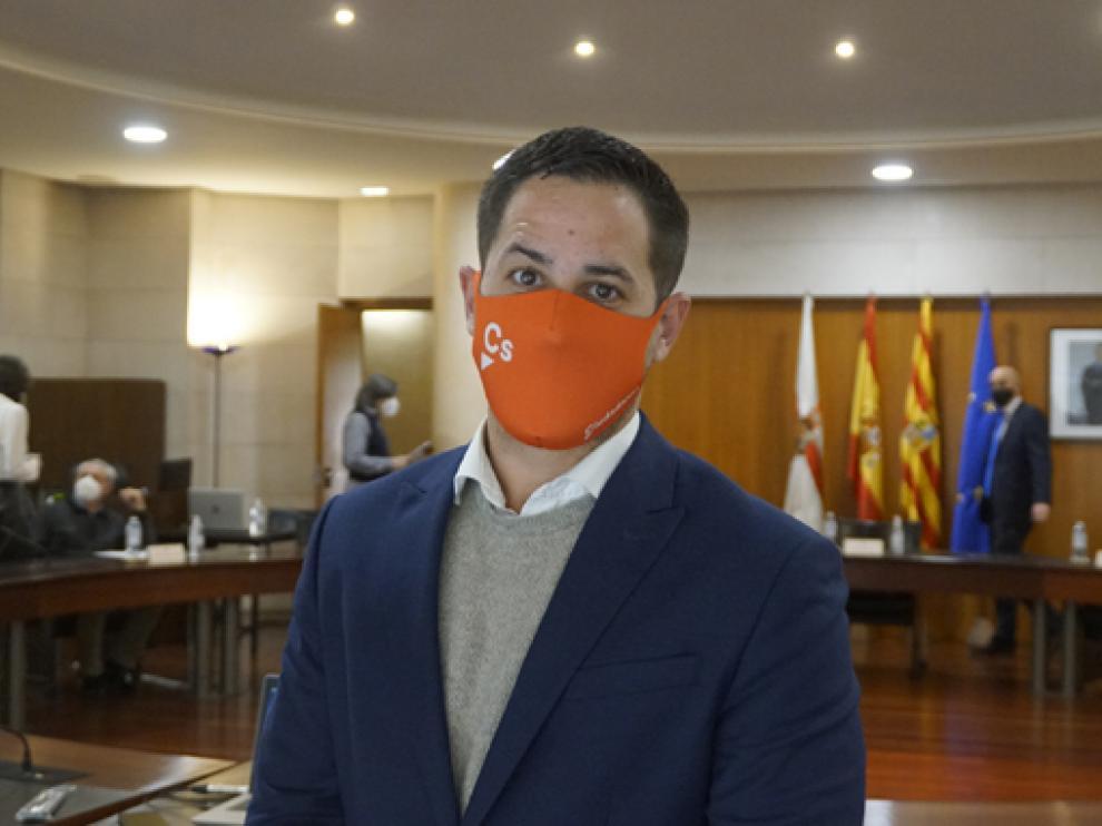 Cristian Royo, diputado provincial de Cs