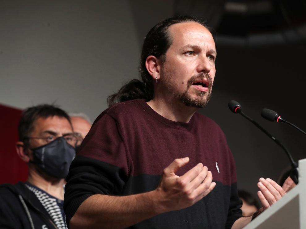 Pablo Iglesias, de Unidas Podemos