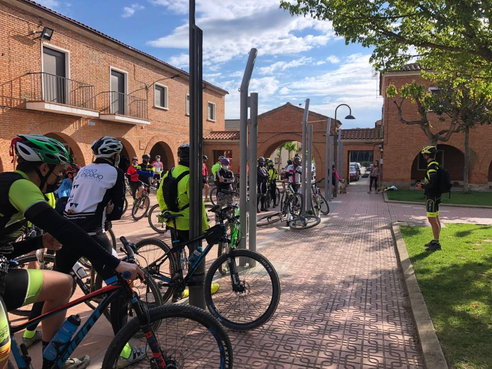 Un total de 50 participantes disfrutaron de los 38 kilómetros en la ruta de Frula