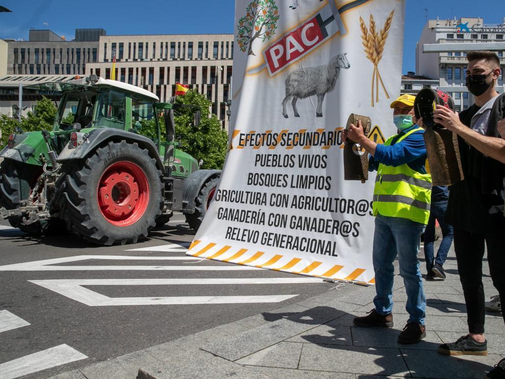 El acto reivindicativo ha tenido lugar este jueves en la capital aragonesa.