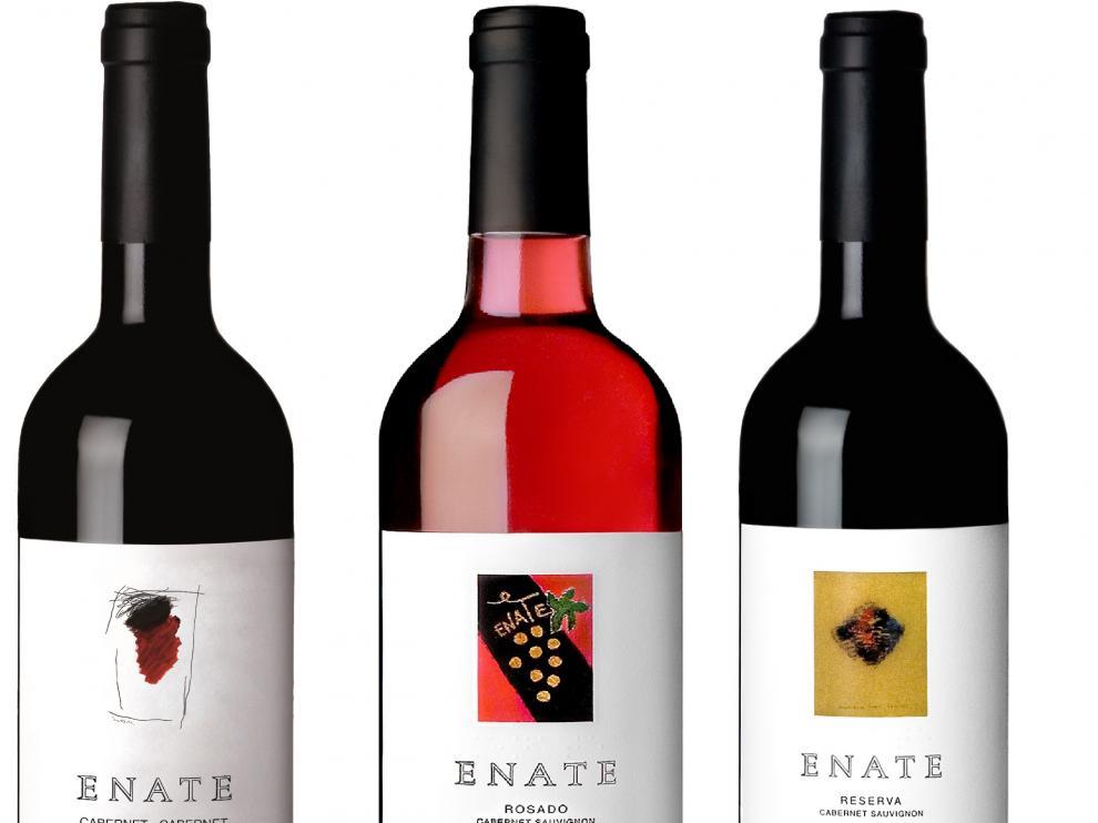 Los tres vinos de Enate premiados