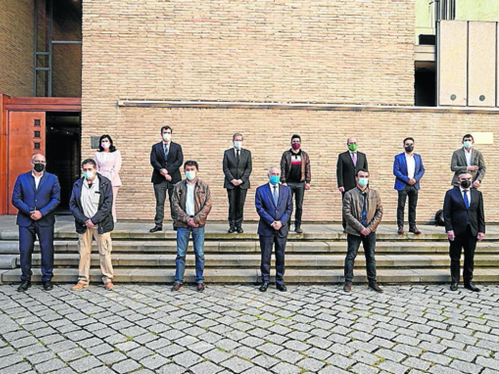 Los grupos parlamentarios aprobaron una declaración institucional de apoyo a los trabajadores de Ferroatlántica.