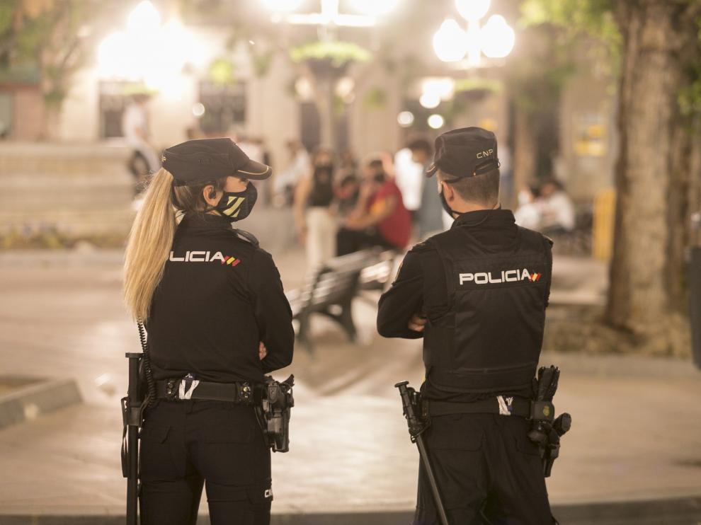 Fin del estado de Alarma. Dispositivo policial / 08-05-2021 / Foto Rafael Gobantes[[[DDA FOTOGRAFOS]]]