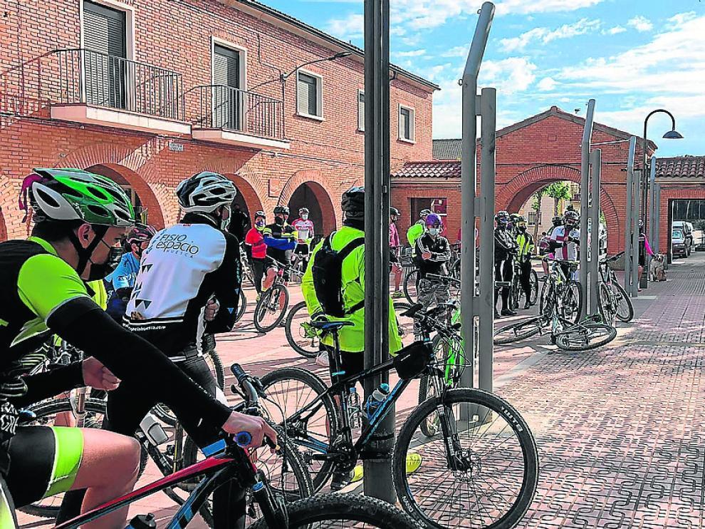 Imagen de la ruta de Frula, primera de las organizadas por Tu de Monegros.