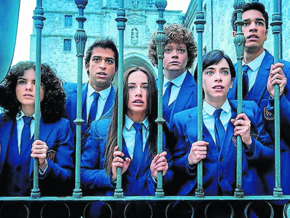Comienza el rodaje de la segunda temporada de El internado: Las Cumbres.