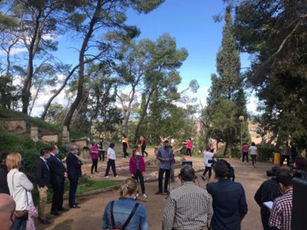 La consejera de Ciudadanía presenta en Alcañiz el proceso de transformación de la red de hogares del IASS
