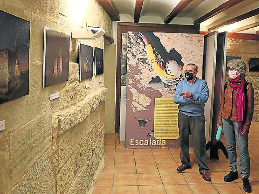 La luz sobre la piedra se inauguró ayer en El Viñedo.