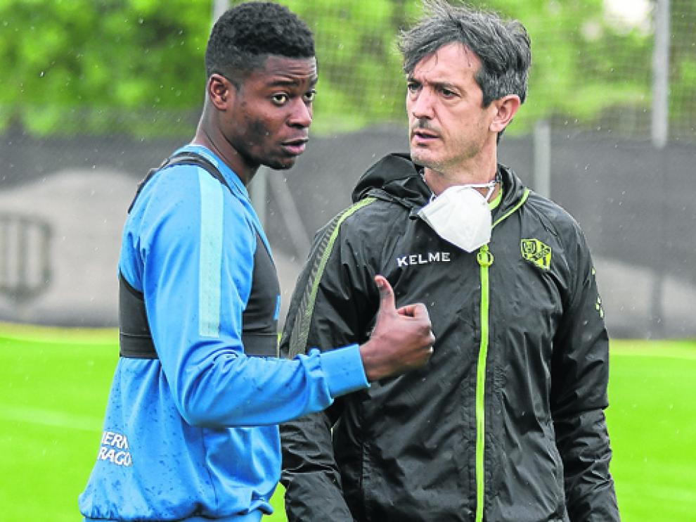 Pacheta sigue convencido de que el Huesca logrará la permanencia.