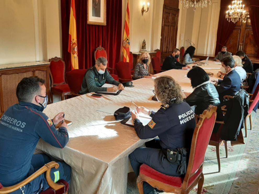 Reunión de la Junta Local de Seguridad de Huesca este lunes