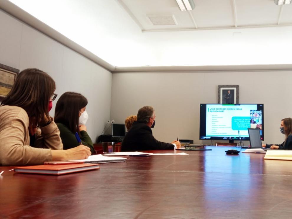 Los Consejos Sectoriales conocen la candidatura de Huesca a la Red de Ciudades Creativas de la Unesco en la categoría de gastronomía.