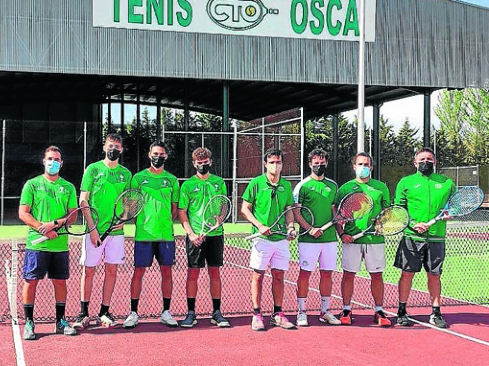 El CT Osca se llevó la victoria ante El Olivar y se metió en semifinales del regional absoluto por equipos.