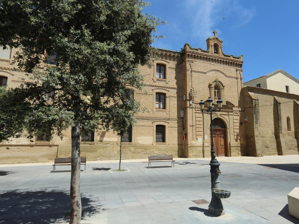Fachada del Seminario de Huesca.