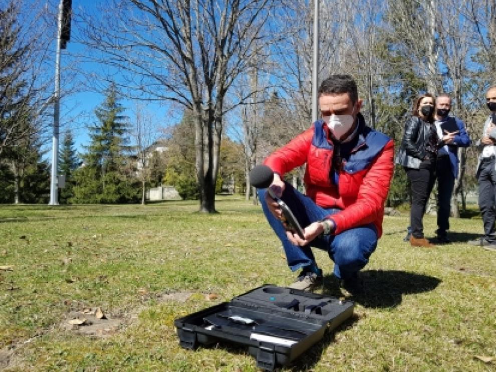 Prueba de las sirenas de Sabiñánigo dentro del Plan de Emergencia Exterior de la localidad