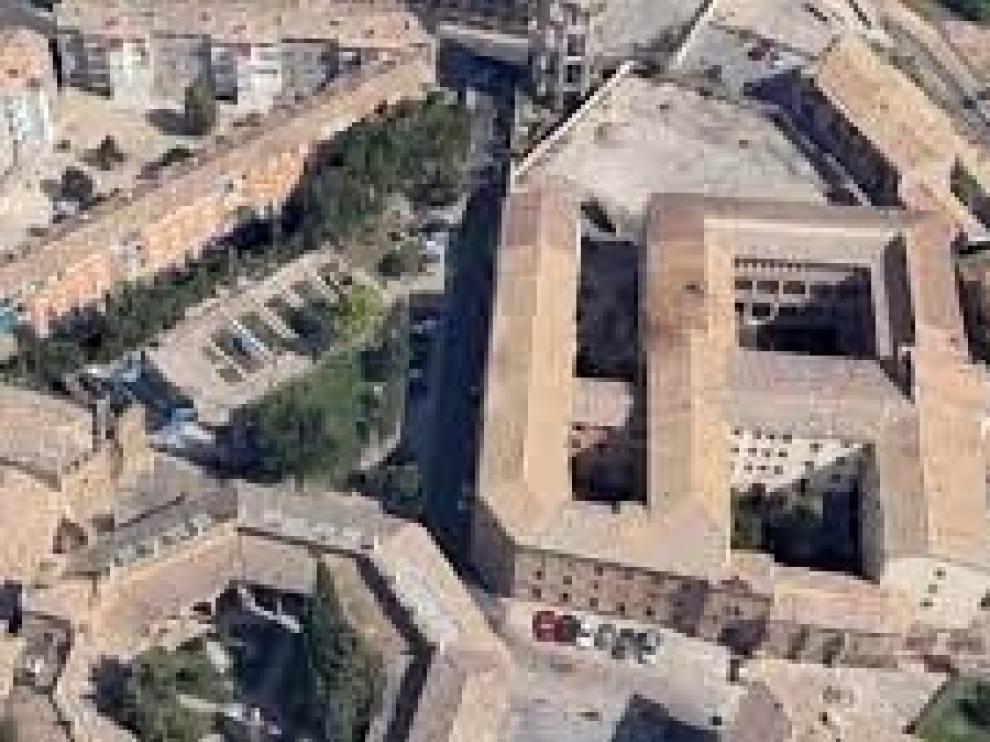 Edificio del Seminario de Huesca