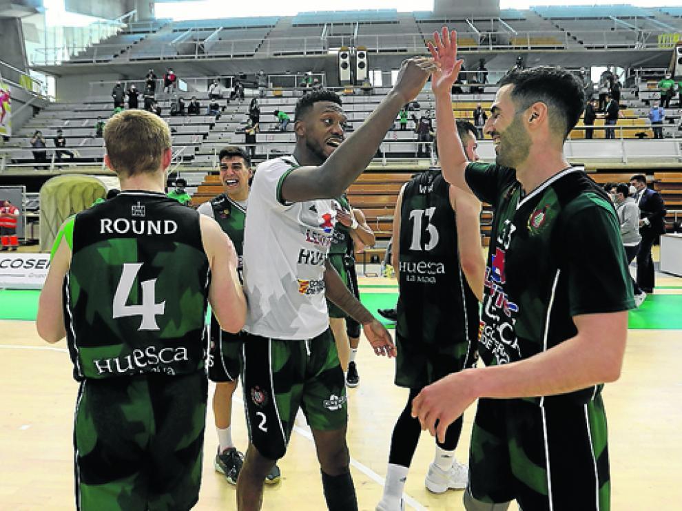 Tras sus victorias contra el Ourense, el Levitec vive ahora la tensa espera.