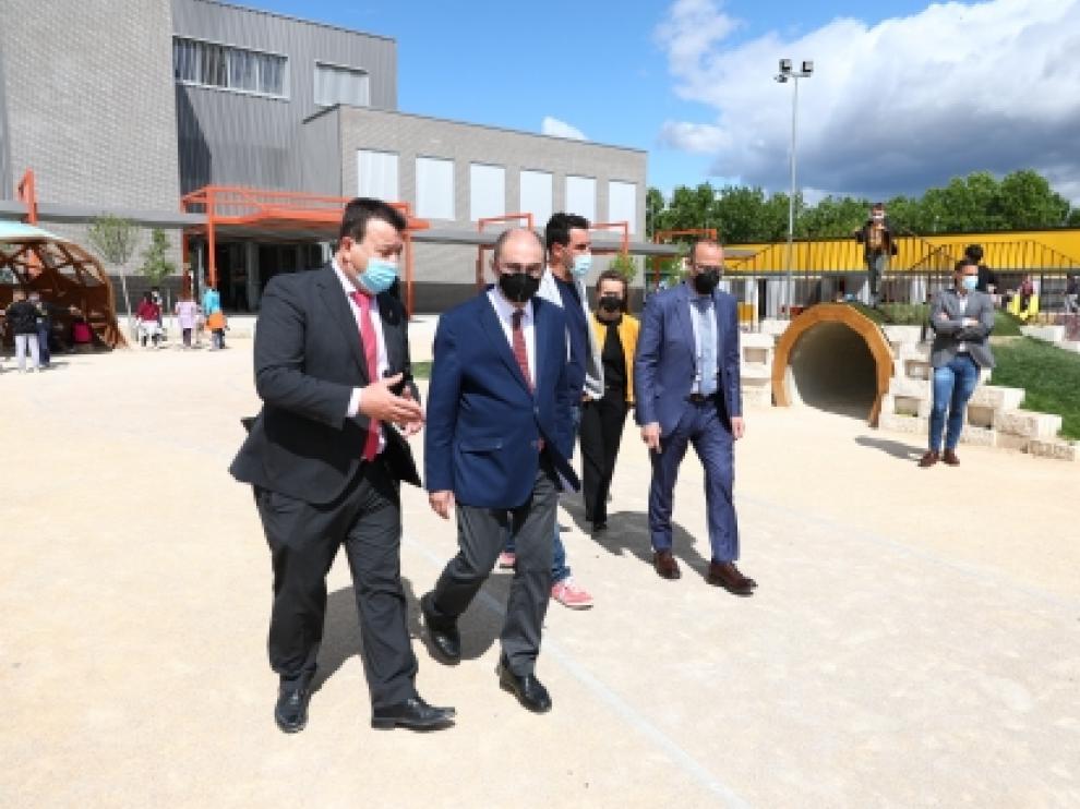 Visita al Colegio de Educación Infantil y Primaria ODÓN DE BUEN en Zuera