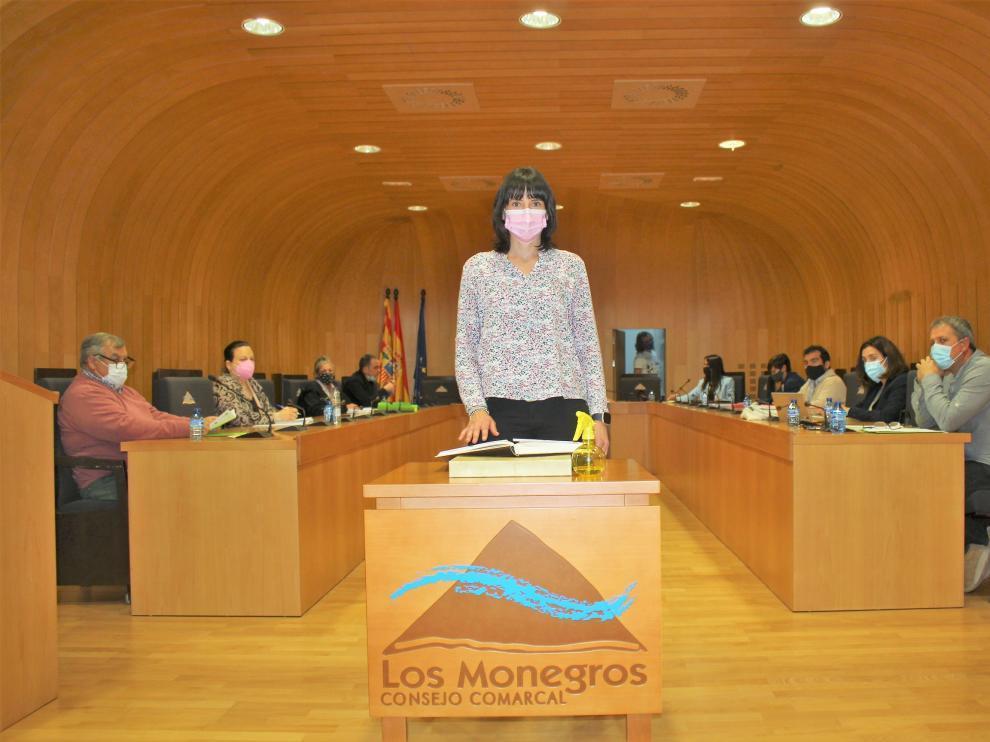 Ana Belén González tomó posesión de su cargo como consejera